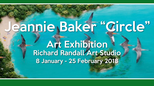"Jeannie Baker ""Circle"" Art Exhibition Richard Randall Art Studio 8 January - 25 February 2018"