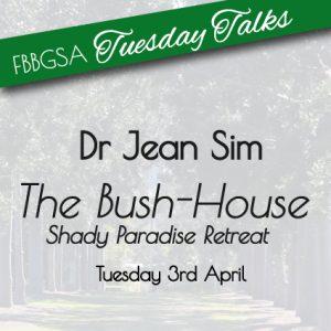 Tuesday Talk with Dr Jean Sim