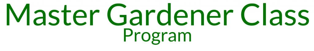 MasterGardener Class Programme Friends of the Brisbane Botanic Gardens and Sherwood Arboretum