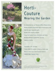 Horti-Couture – is on again!